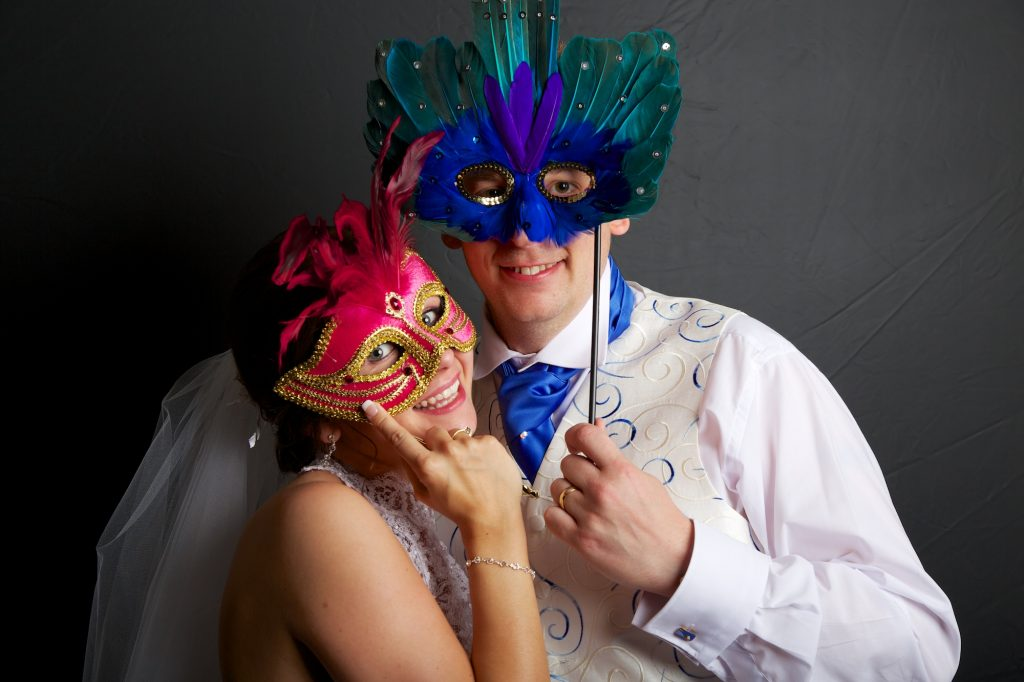 photobooth at a wedding in surrey by joseph tufo