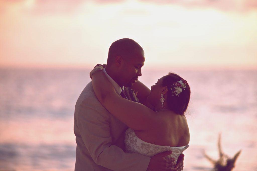 barbados destination wedding photography joseph tufo sunset