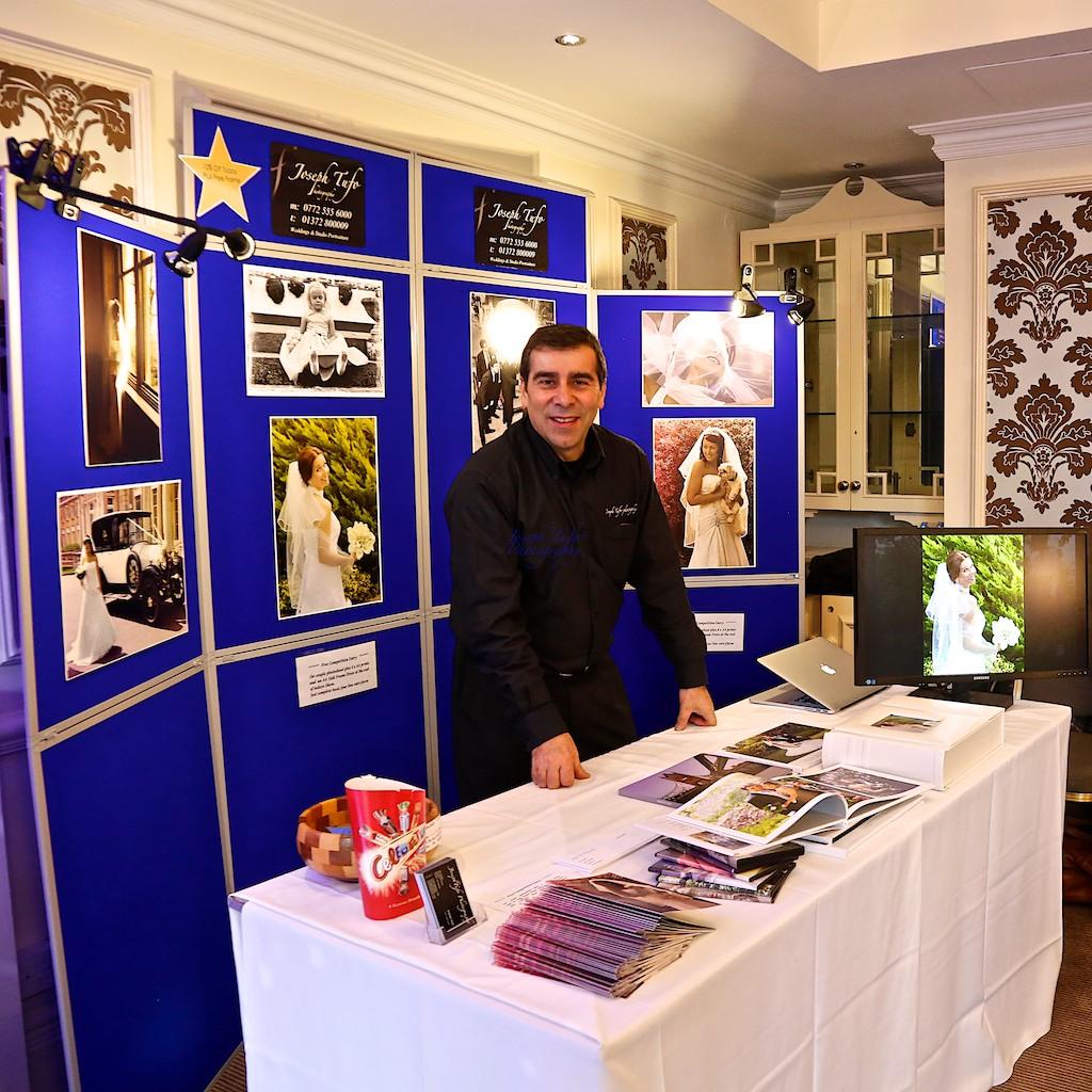 Joseph Tufo at Cannizaro house wedding fair in Wimbledon