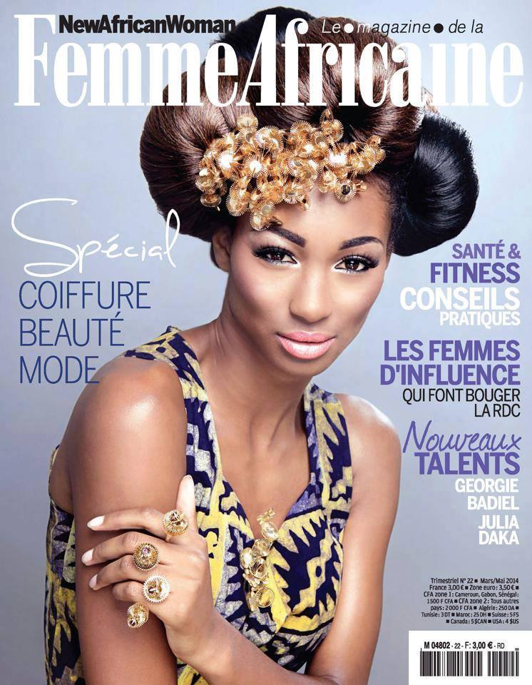 emy lou photography featured in 'New African Women' magazine in France
